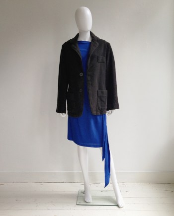 Maison Martin Margiela dark grey dolls jacket 1999