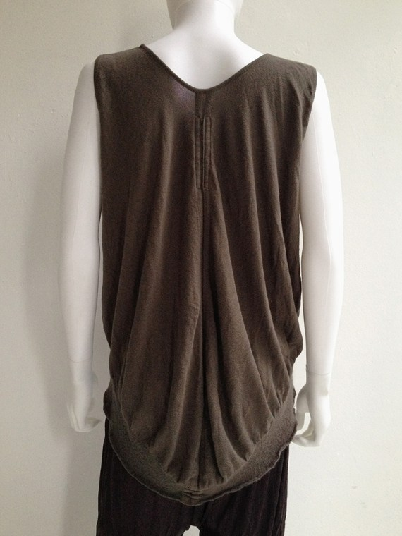 Rick Owens brown knit bubble top creatch spring 2008 top3