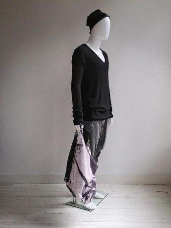 Bless n°23 'the bringer' grey towel bag