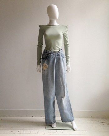 Maison Martin Margiela oversized denim trousers — fall 2000