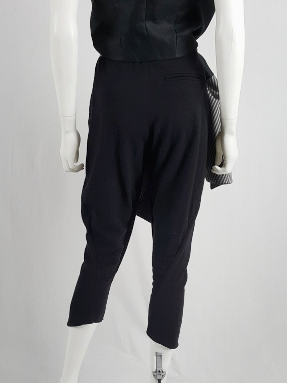Haider Ackermann dark grey harem trousers — fall 2009