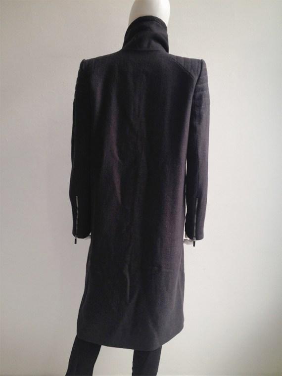Haider Ackermann purple long coat fall 2012 8700