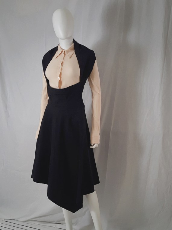 Comme Des garcons black halter dress 1987 archive piece 4512