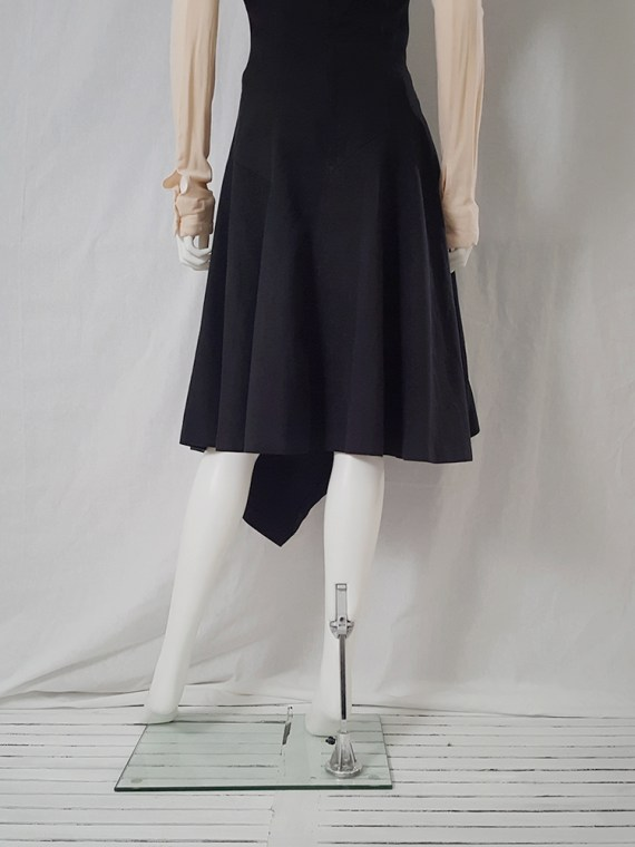 Comme Des garcons black halter dress 1987 archive piece 4712