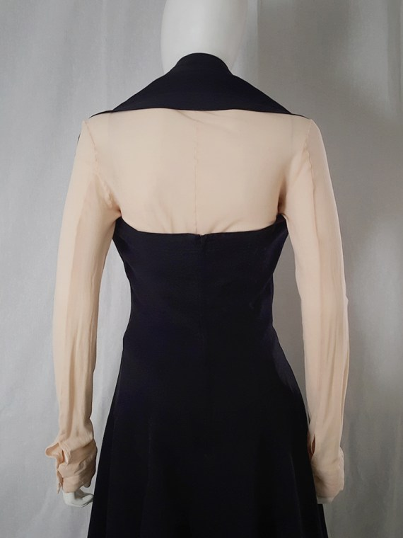 Comme Des garcons black halter dress 1987 archive piece 4730