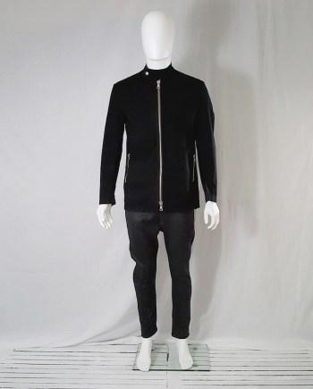 Maison Martin Margiela black zipper jacket