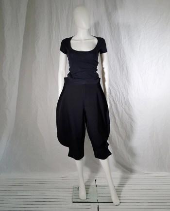 Comme des Garçons black 2D paperdoll trousers — fall 2012
