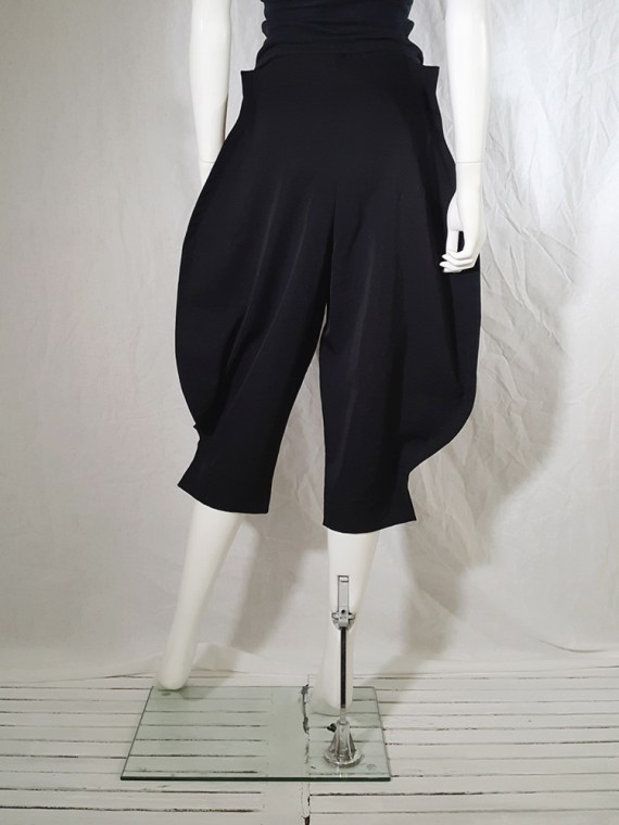 Comme des Garcons black 2D paperdoll trousers AD fall 2012 _162908