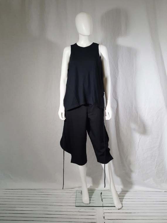 archive Ann Demeulemeester black jumper with extra armholes spring 1999 180154