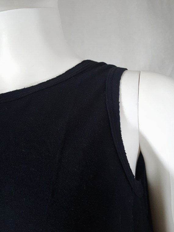 archive Ann Demeulemeester black jumper with extra armholes spring 1999 180201(0)