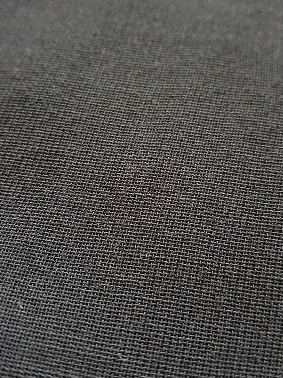 archive 90s Ann Demeulemeester black strapless jumpsuit152631