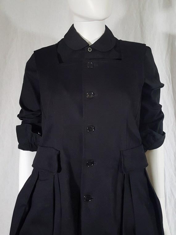 vintage Comme des Garcons Comme black school uniform dress 141847
