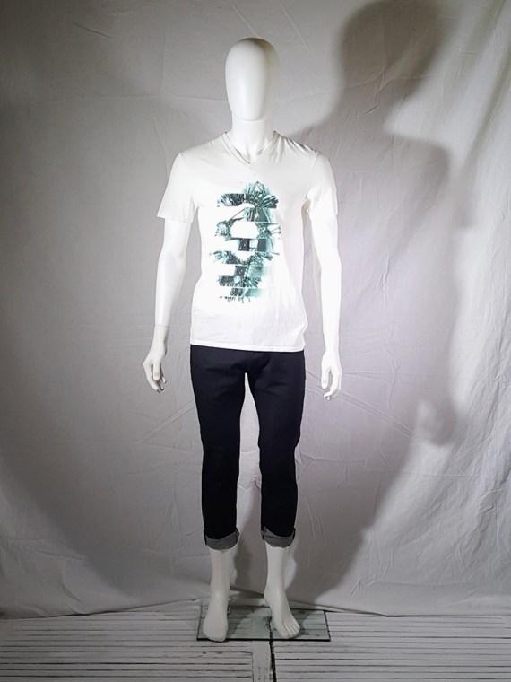 Maison Martin Margiela white t-shirt with key print fall 2009 143544