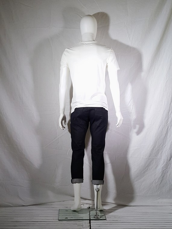 Maison Martin Margiela white t-shirt with key print fall 2009 143720