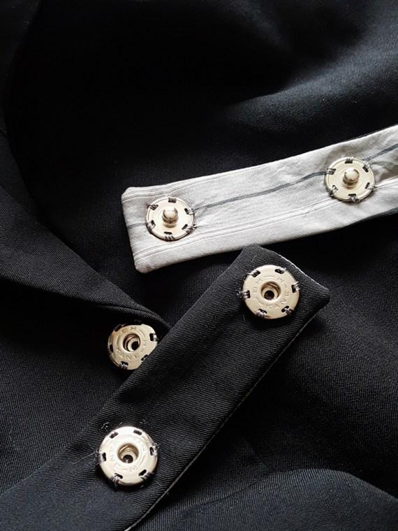 vintage Comme des Garcons Homme black belted blazer AD 1994 123452