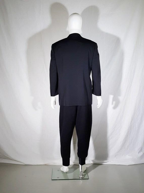 vintage Comme des Garcons Homme black belted blazer AD 1994 180512