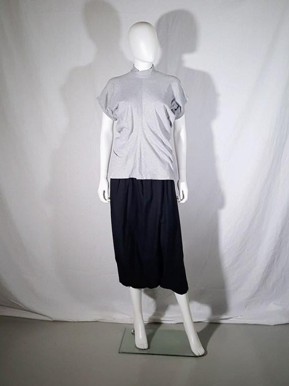 vintage Comme des Garcons grey draped top 1987 1986 145430