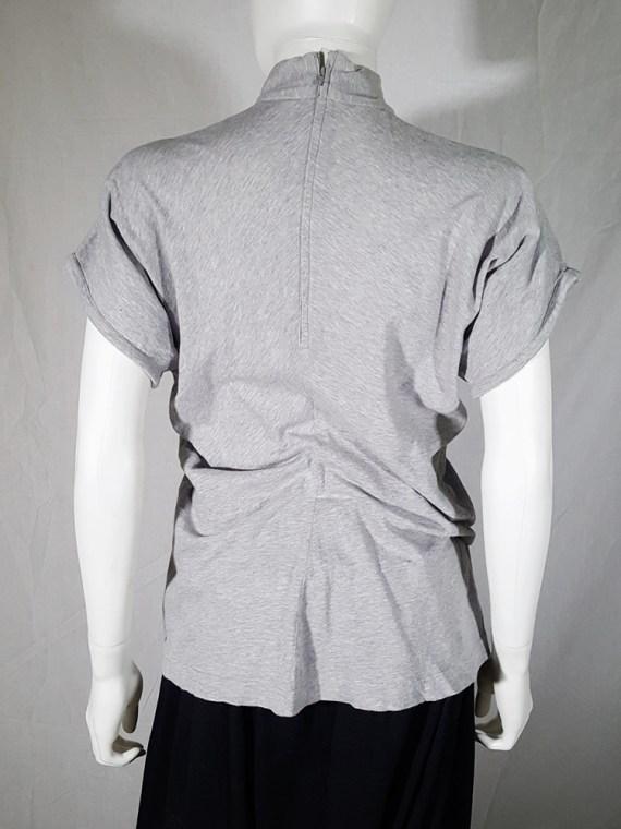 vintage Comme des Garcons grey draped top 1987 1986 145614