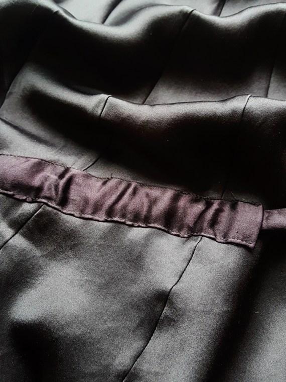 vintage Ann Demeulemeester purple belted dress fall 2003 183109