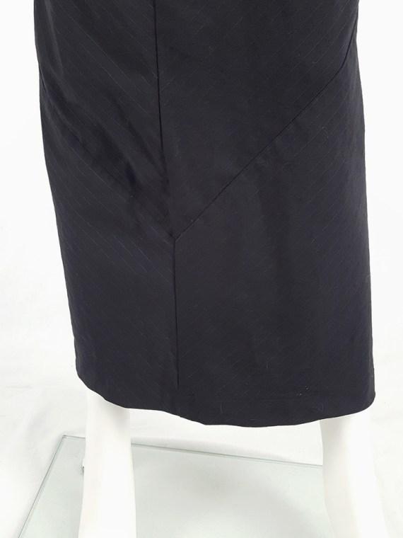 vintage Comme des Garcons robe de chambre black deformed maxi dress AD 1999 104317