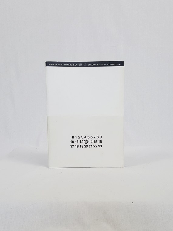 vintage Maison Martin Margiela 13 STREET book special edition volumes 1 and 2 november 1999 110034