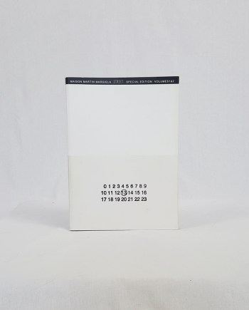 Maison Martin Margiela 13 STREET book special edition volumes 1 & 2 — 1999