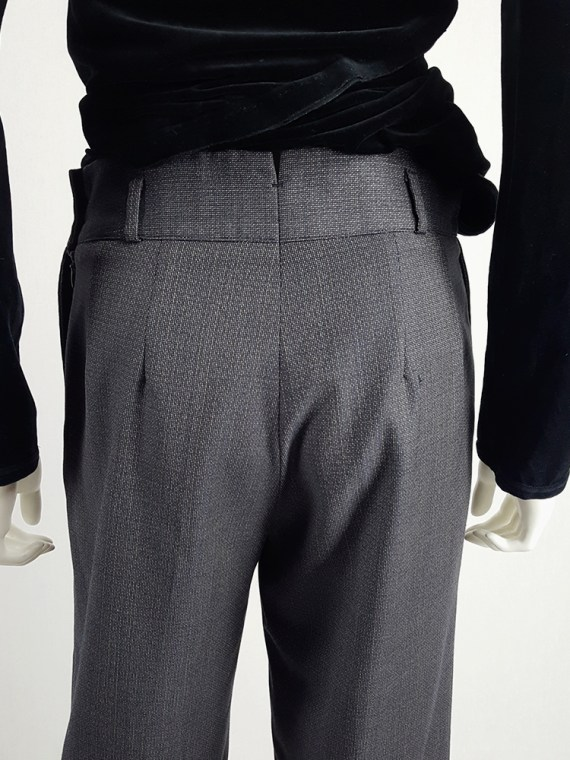 vintage Maison Martin Margiela replica blue 1930s ladys cropped trousers fall 2006 222827(0)
