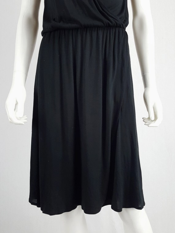archival Maison Martin Margiela replica black 1970s day dress spring 2006 102346
