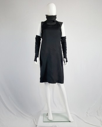 Maison Martin Margiela black apron dress — fall 1997