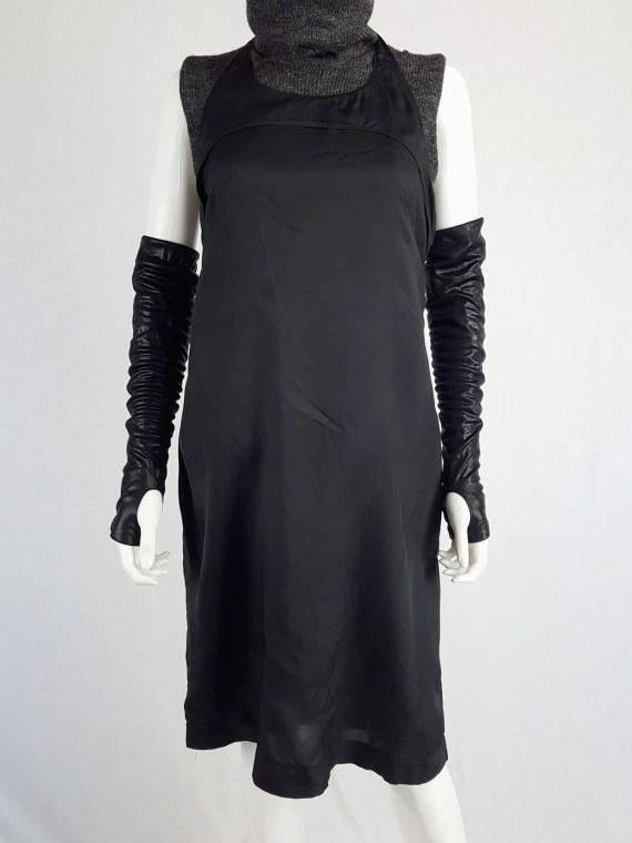 Maison Martin Margiela black apron dress — fall 1997