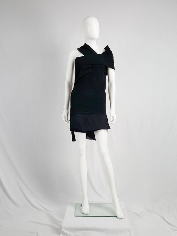 Maison Martin Margiela black bandage dress — fall 2009