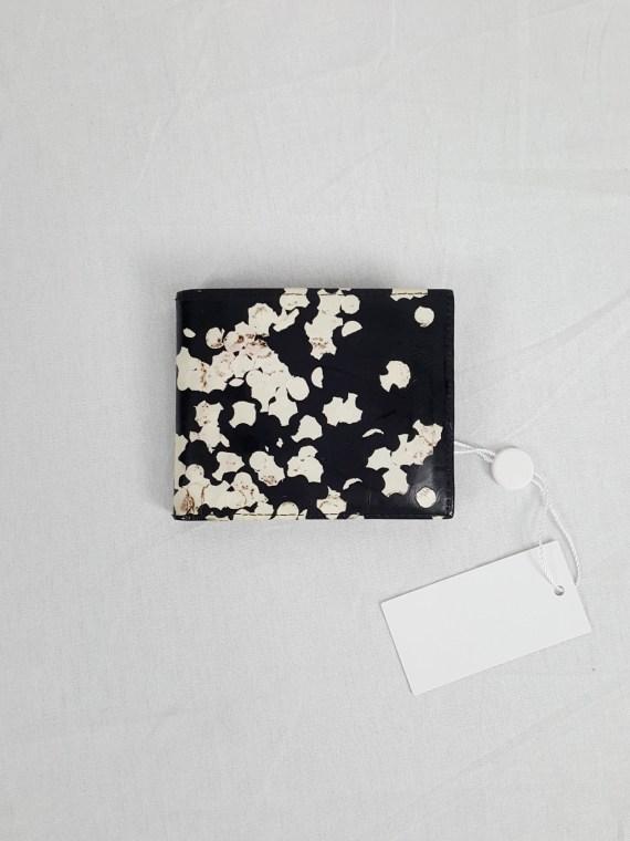 vintage Maison Martin Margiela black confetti wallet spring 2009 142943