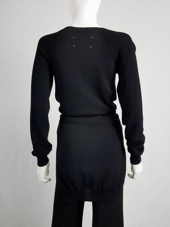 vintage Maison Martin Margiela black jumper with 4 sleeves fall 2007 153127