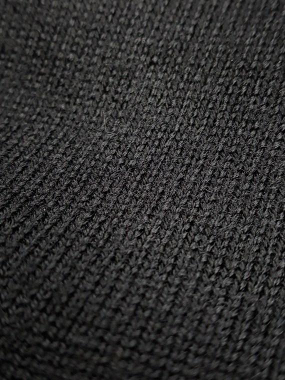 vintage Maison Martin Margiela black jumper with 4 sleeves fall 2007 153832