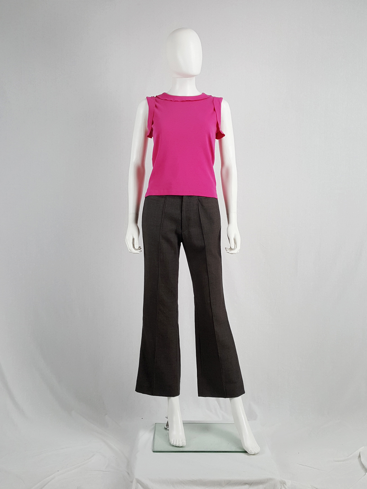 638c3622458 Maison Martin Margiela pink top with movable inside out seams ...