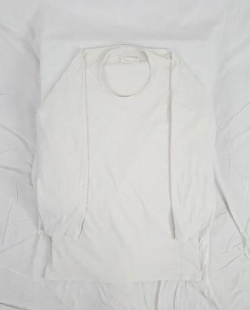 Maison Martin Margiela light grey flat tunic — spring 1998