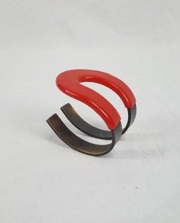 Maison Martin Margiela magnet shaped into a cuff bracelet — 2010