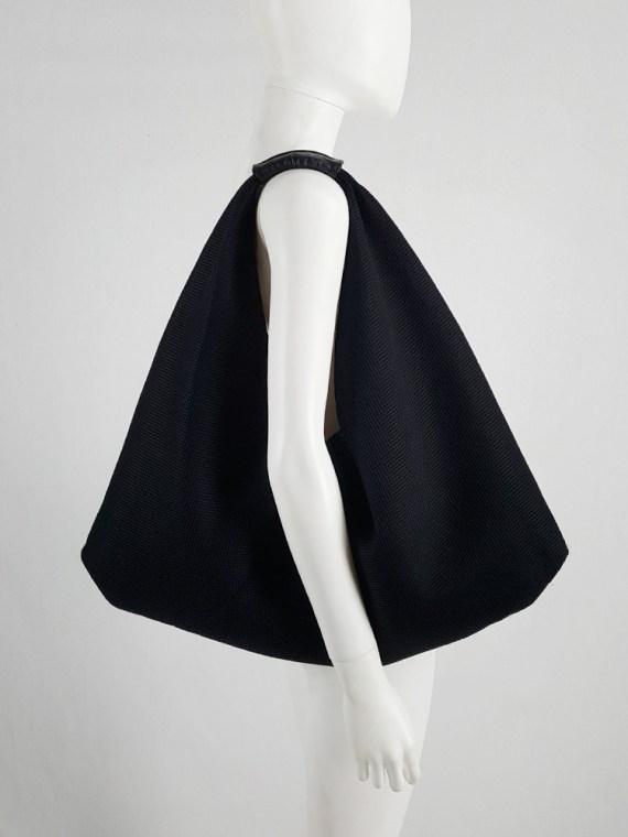 Margiela MM6 black mesh japanese bento bag