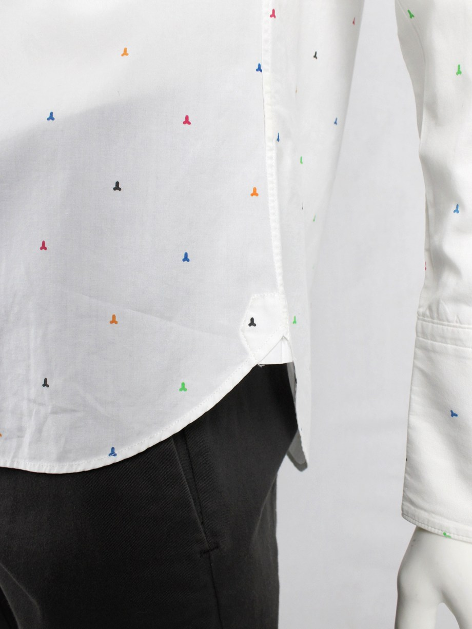 Taishi Nobukuni white shirt with small penis print