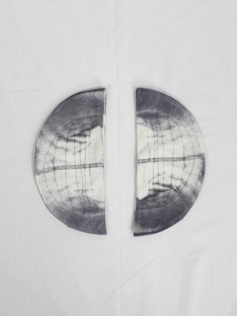 Maison Martin Margiela Artisanal trompe-l'oeil shoulder pads — spring 1999