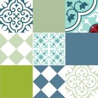 Tile Decals | Tile Design Ideas