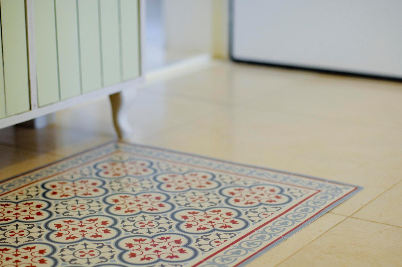 decorative kitchen floor mats tall cabinet with doors pvc vinyl mat tiles pattern linoleum rug