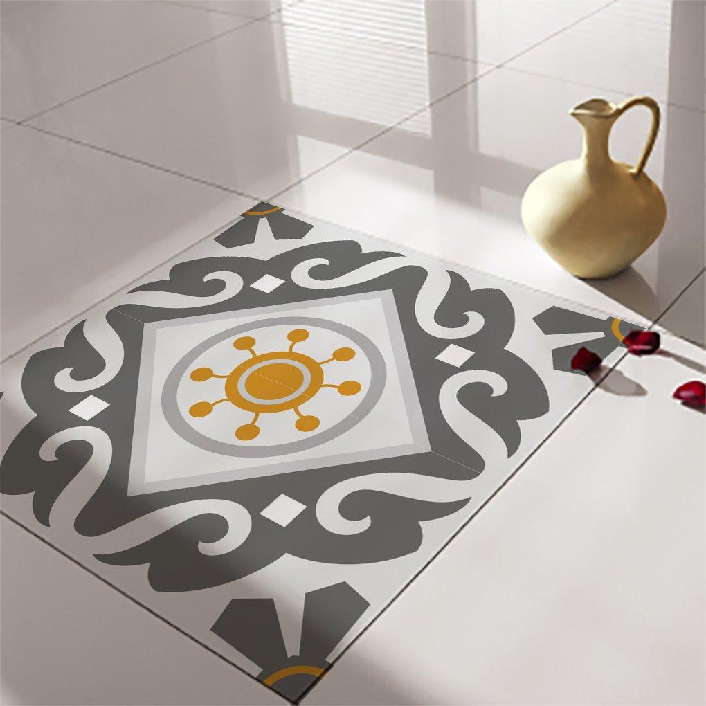 floor tile decals stickers vinyl decals vinyl floor self adhesive tile stickers decorative tile flooring removable stickers no 214