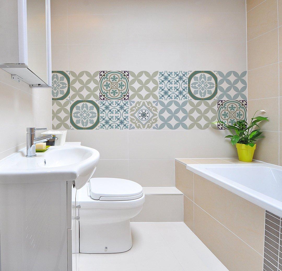 kitchen vinyl floor tiles splash guard mix tile decals bathroom free shipping design 314