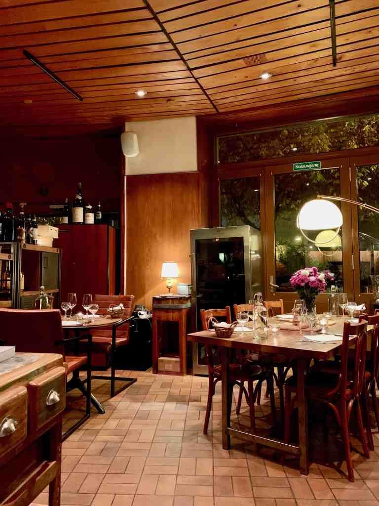 interior of restaurant viertel-kreis