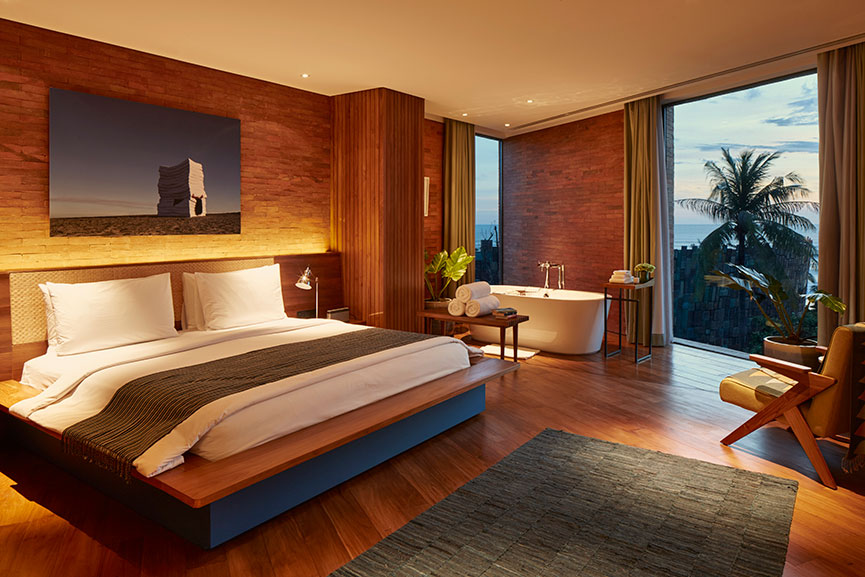 Katamama Bali suite - master bedroom