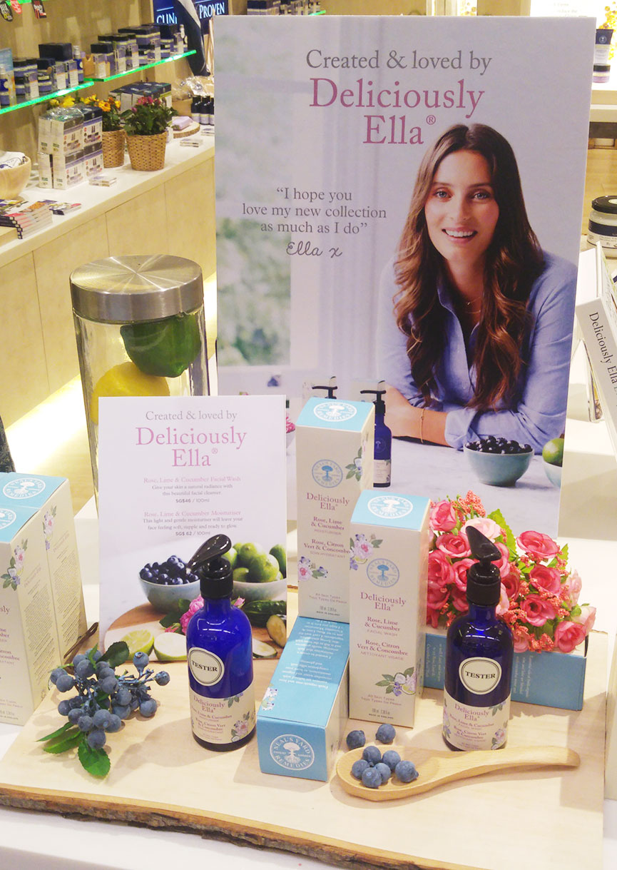 Display at the NYR and Deliciously Ella event.