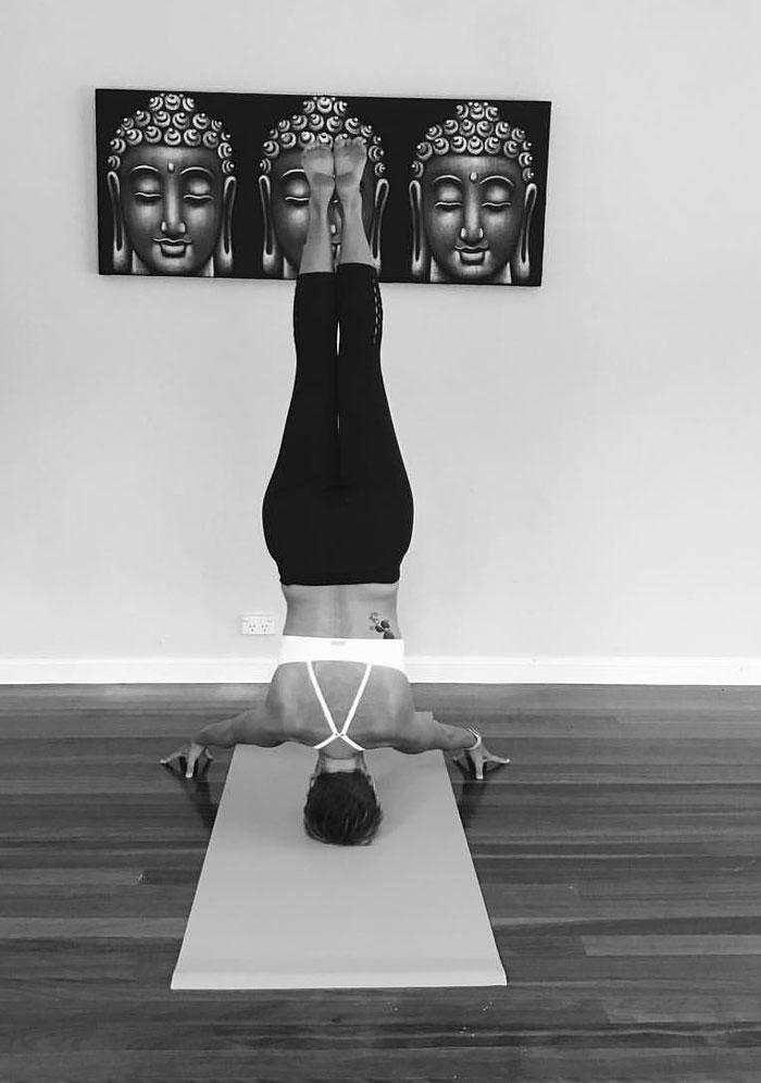 Go Ta Yoga Headstand