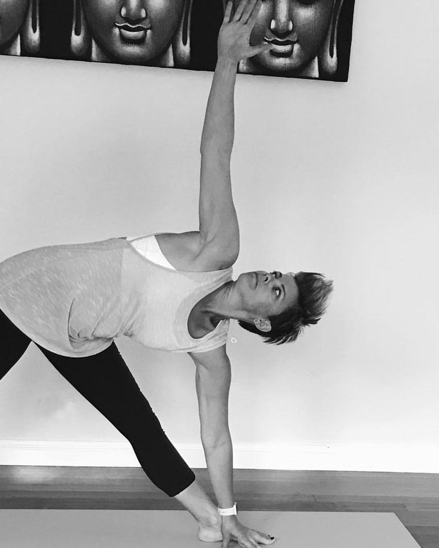 Go Ta Yoga Triangle Pose
