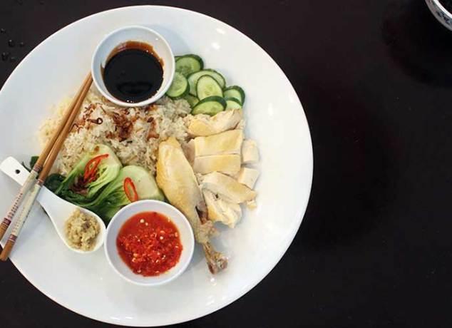 Homemade Hainanese Chicken Rice